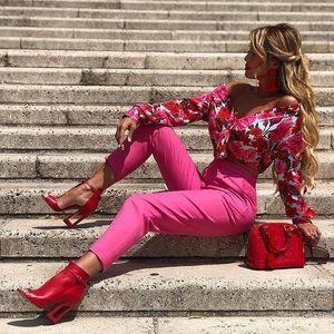 Zara high wait trousers NWOT